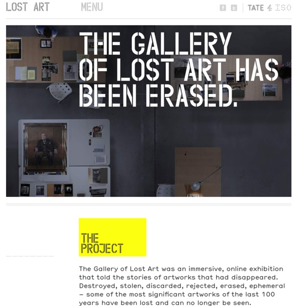 Gallery of Lost Art