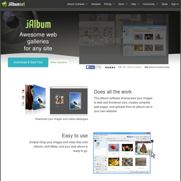 Photo Gallery Website Software