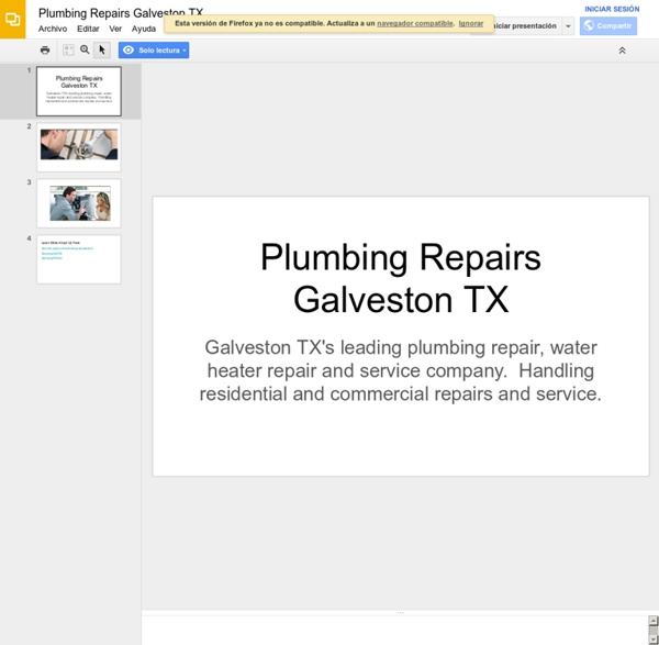 Plumbing Repairs Galveston TX