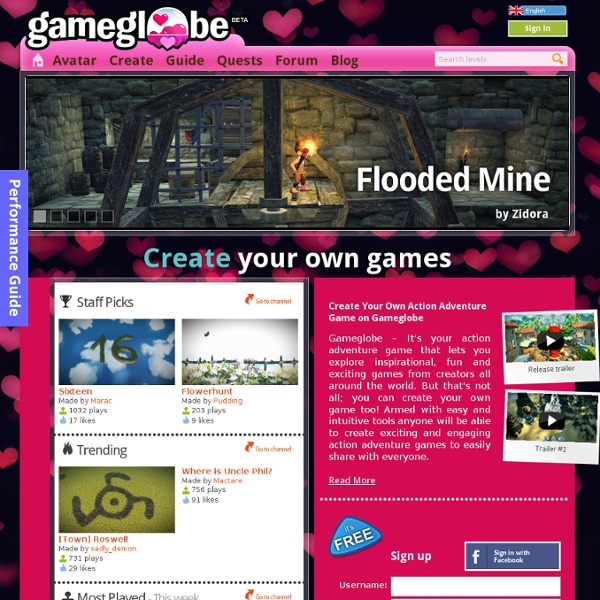 Gameglobe Action Adventure Games
