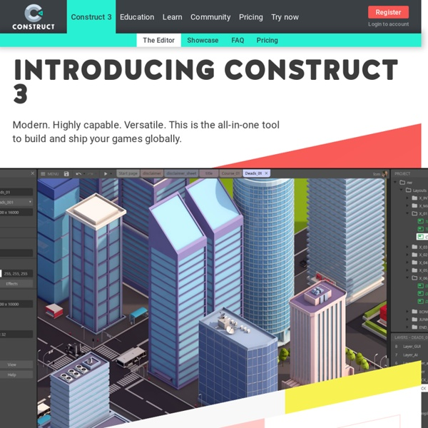 Make Your Own 2d Games With Construct 2