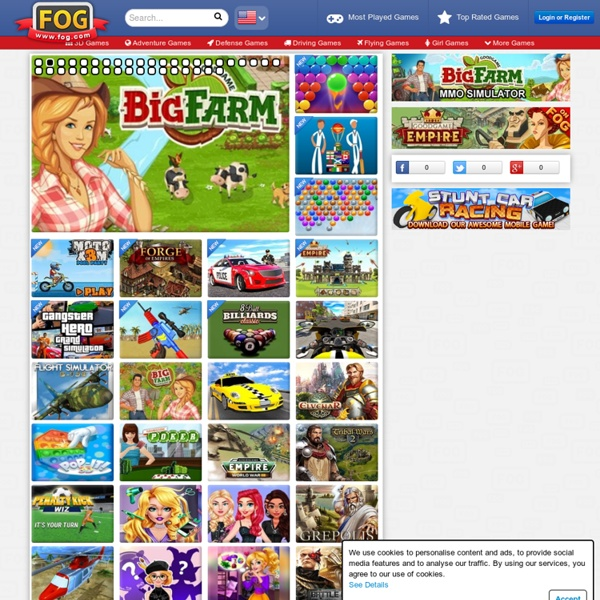 Games - Free Online Games at FOG.COM | Pearltrees
