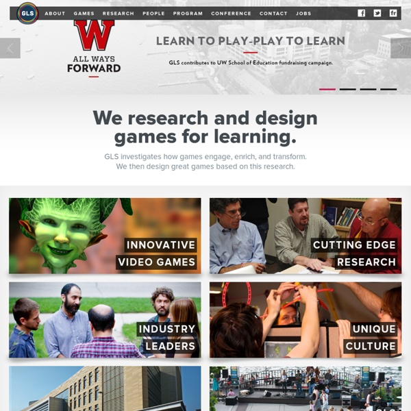Games+Learning+Society Center