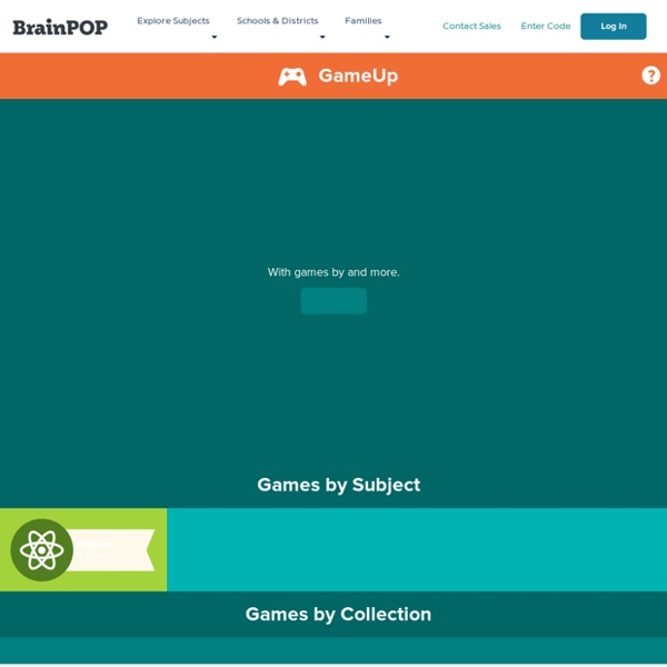 GameUp - BrainPOP.