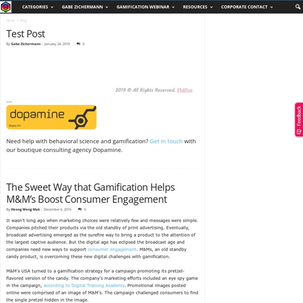 Gamification Co - The Leading Source for Gamification News & Info
