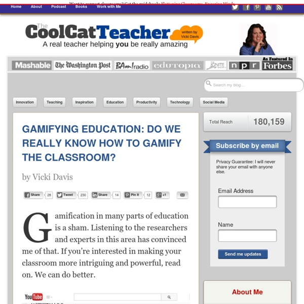 Gamifying Education: Do We Know How to Gamify the Classroom?