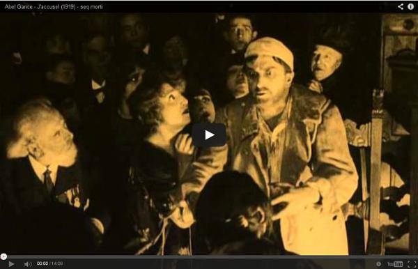 Abel Gance - J'accuse! (1919) - extrait
