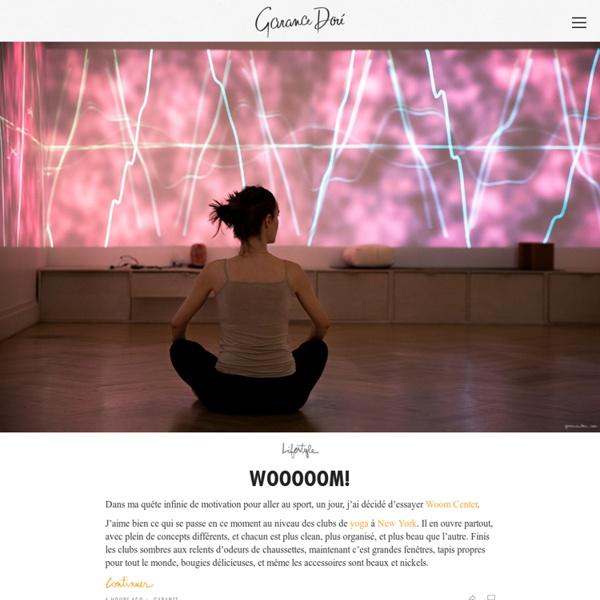 Un blog c'est passionel (Garance Doré)