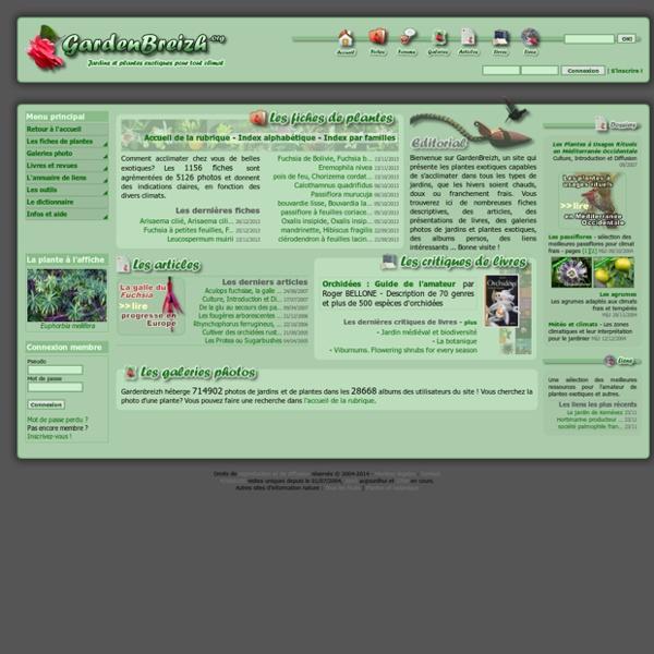 GardenBreizh.org - Plantes exotiques pour tout climat