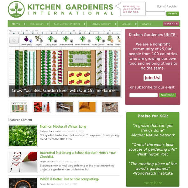 You can grow your own food. We can help.