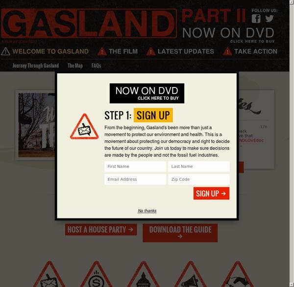 Gasland: A film by Josh Fox