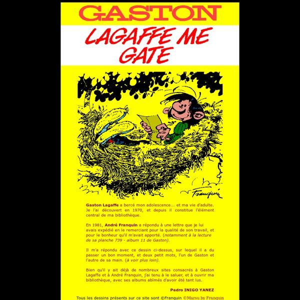 Gaston Lagaffe : Lagaffe me gâte