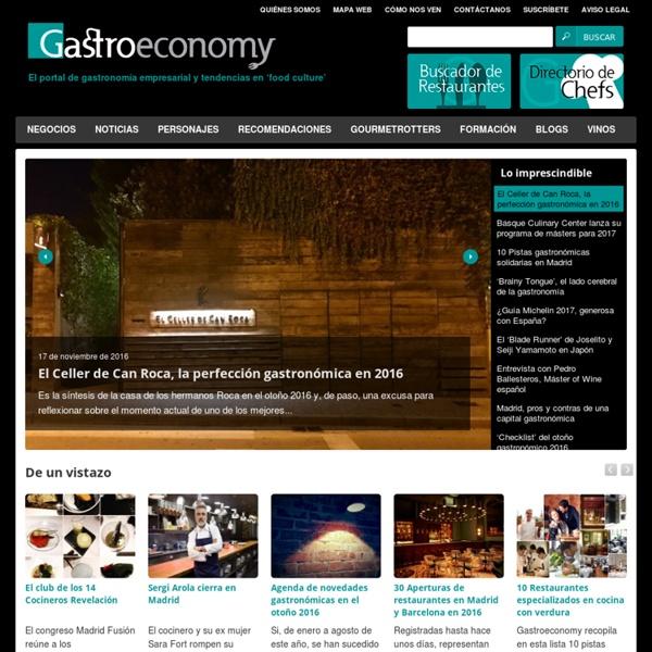 Gastroeconomy - El portal de gastronomía empresarial y tendencias en 'food culture'