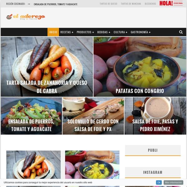 Blog de Cocina, Gastronomía y Recetas - El Aderezo