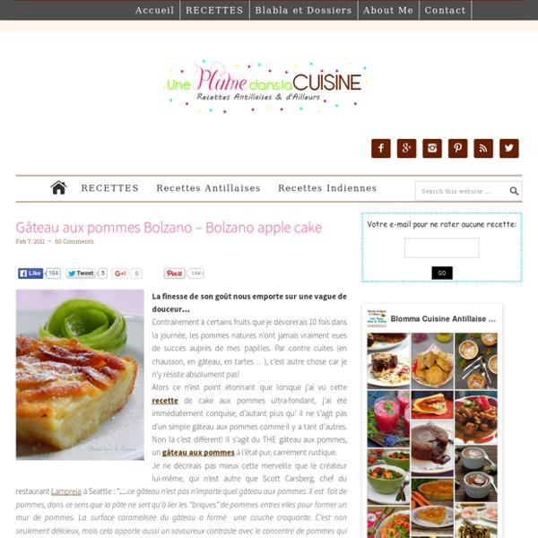Gâteaux aux pommes Bolzano – Bolzano apple cake