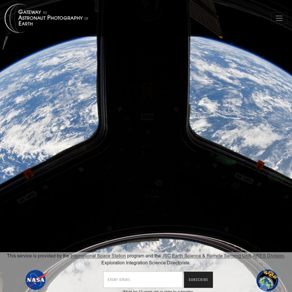 The Gateway to Astronaut Photography of Earth