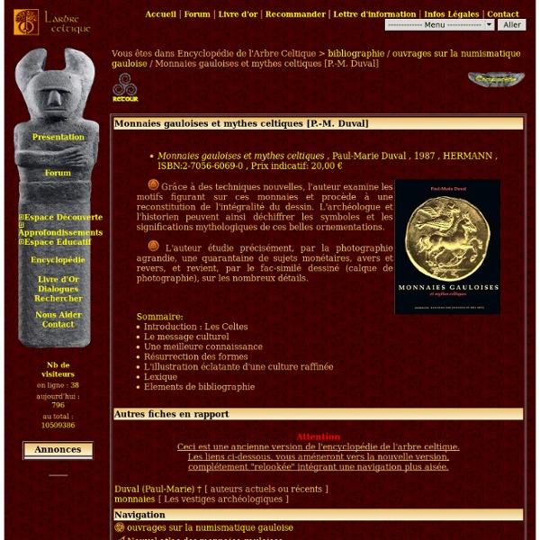 Monnaies gauloises et mythes celtiques [P.-M. Duval] - 7907