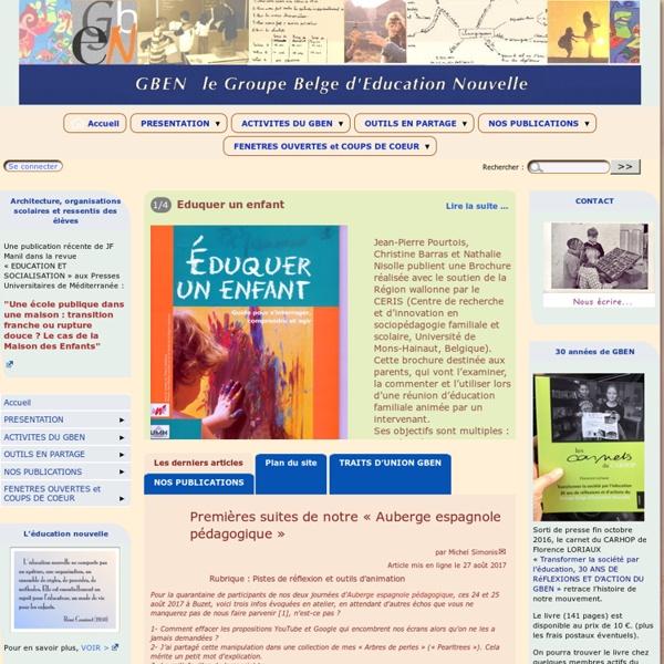 Groupe belge d'éducation nouvelle
