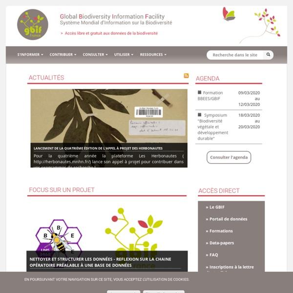 GBIF France » Système mondial d'information sur la biodiversité