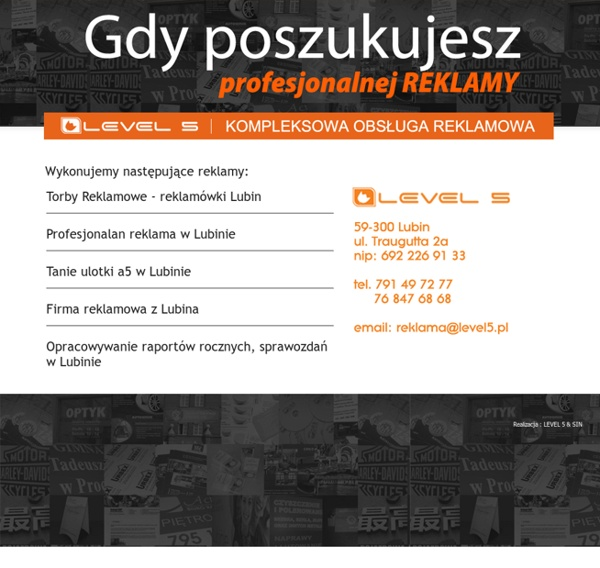 Gdzie zamówić reklamę w Lubinie woj. dolnośląskie?