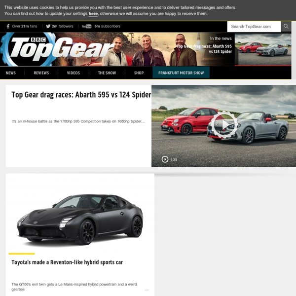 Top Gear: cars, driving, supercars and the TV show - BBC Top Gear - BBC Top Gear