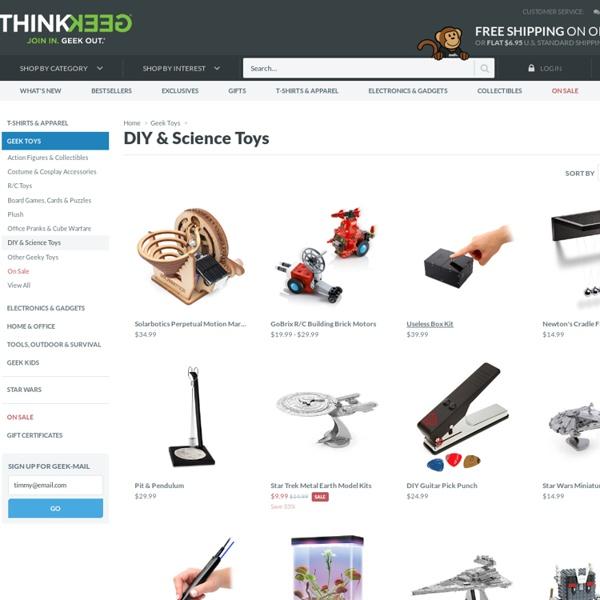 Geek Toys Science : Geek toys rc thinkgeek personal