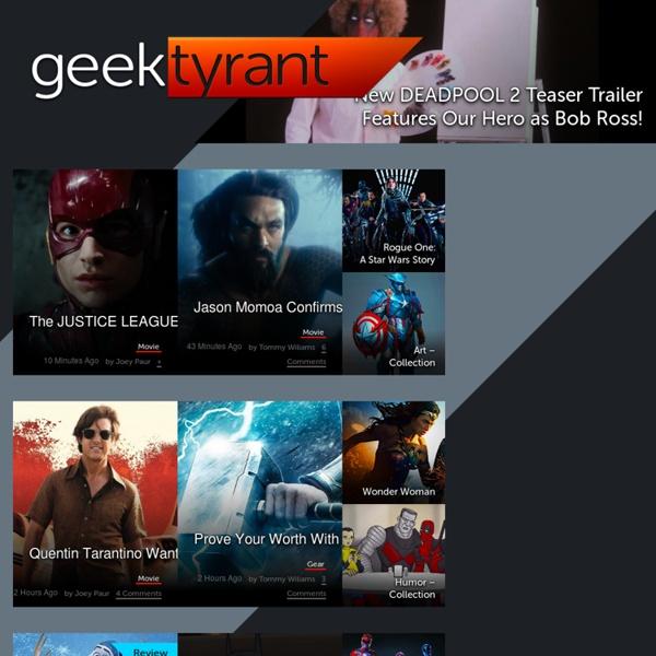 News - GeekTyrant
