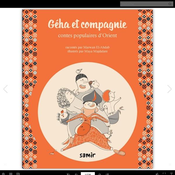 Contes populaires d'Orient