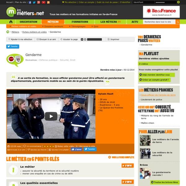 Gendarme vidéo