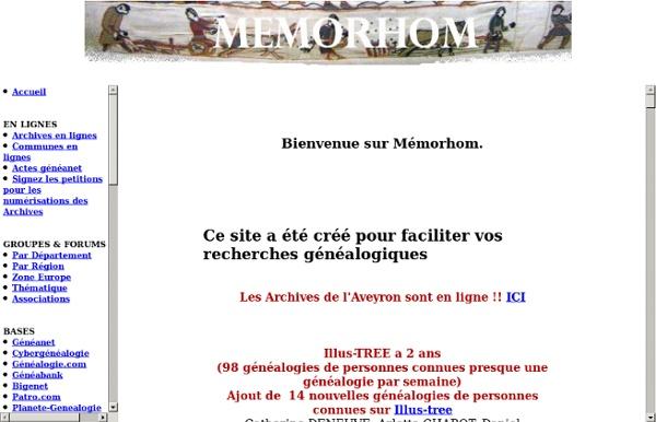Genealogie Gratuite Etat Civil Memorhom