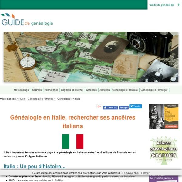 Généalogie en Italie