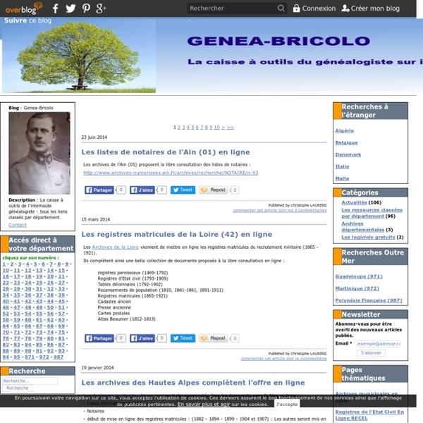 Genea-Bricolo