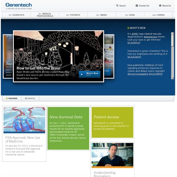 Genentech: Home