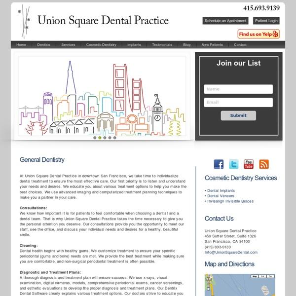 General Dentistry in San Francisco