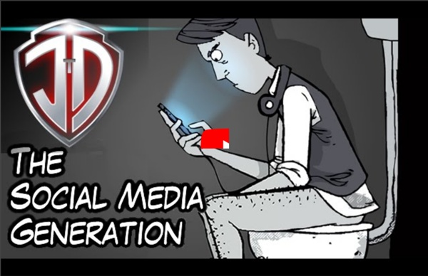 Marc Maron: The Social Media Generation Animated