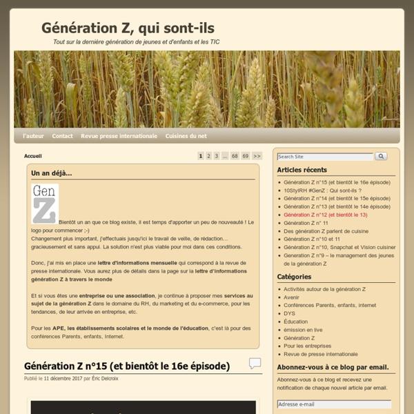 Génération Z, qui sont-ils - Tout sur la dernière génération de jeunes et d'enfants et les TIC