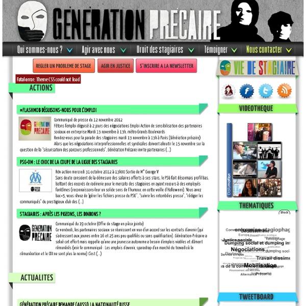 Generation-Precaire