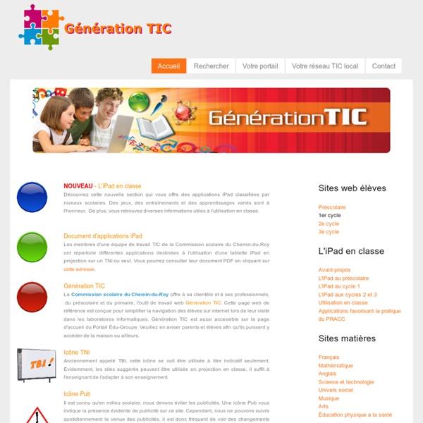 Génération TIC