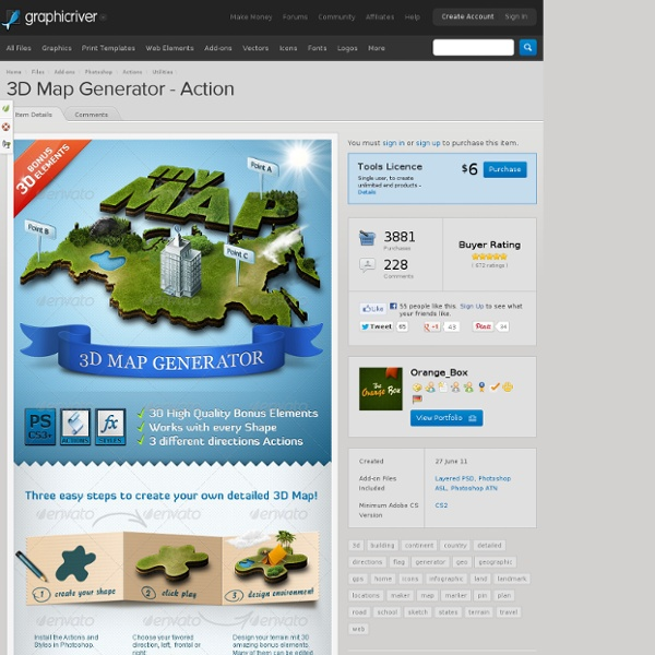 3d map generator action pearltrees gumiabroncs Gallery