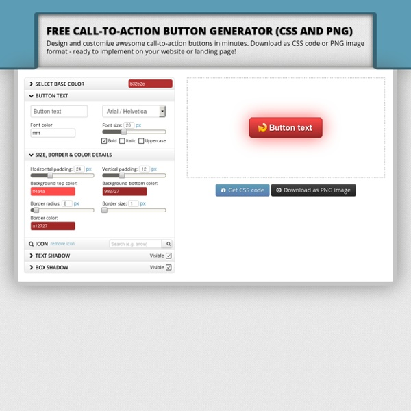 Call-to-Action Button Generator - Design buttons & download as CSS PNG