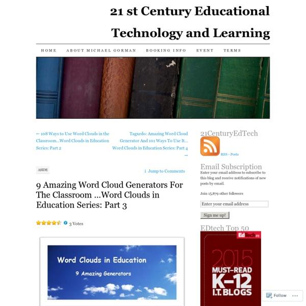 9 Amazing Word Cloud Generators