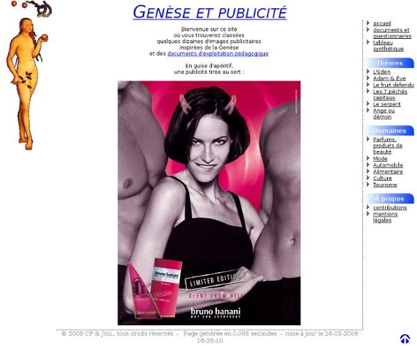 Genèse et publicité
