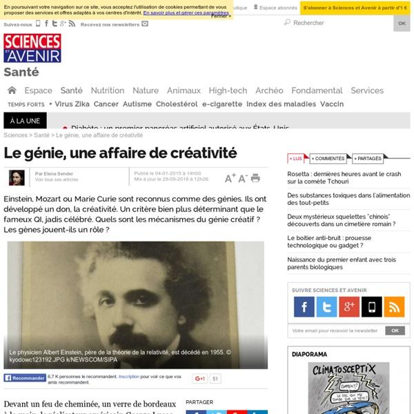 Le génie, une affaire de créativité