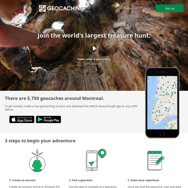 Geocaching - The Official Global GPS Cache Hunt Site