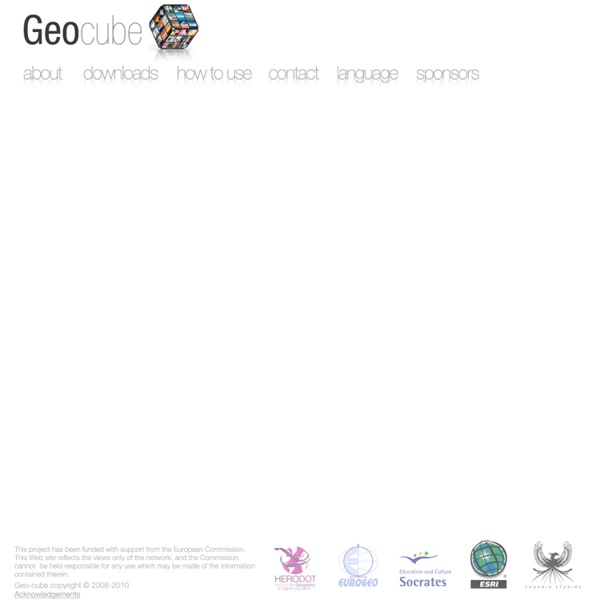 Geocube - The world of Geography at your fingertips