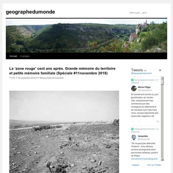 Geographedumonde - Blog LeMonde.fr