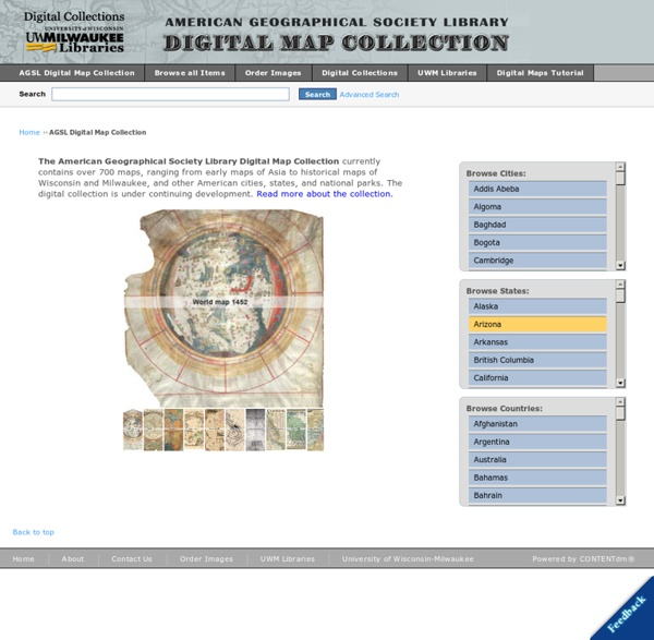 American Geographical Society Library Digital Map Collection
