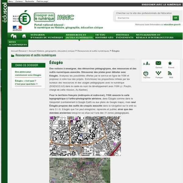 Édugéo — Histoire, géographie, éducation civique