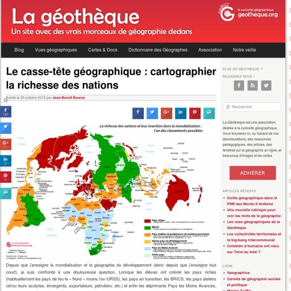 La richesse des nations [carte]