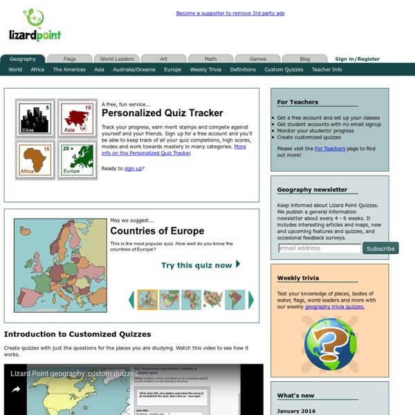Lizard Point Geography Quizzes Clickable Map Quizzes For Fun And - Lizard point us state map quiz